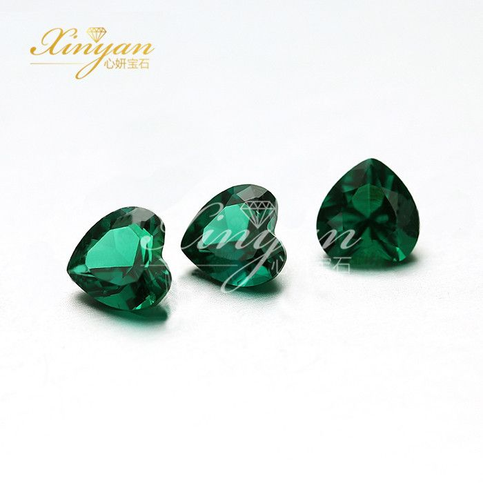 Lab Created Synthetic Loose Gemstones Emerald Stones Price For Ring