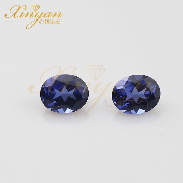 oval synthetic sapphire 8×10mm wholesale price