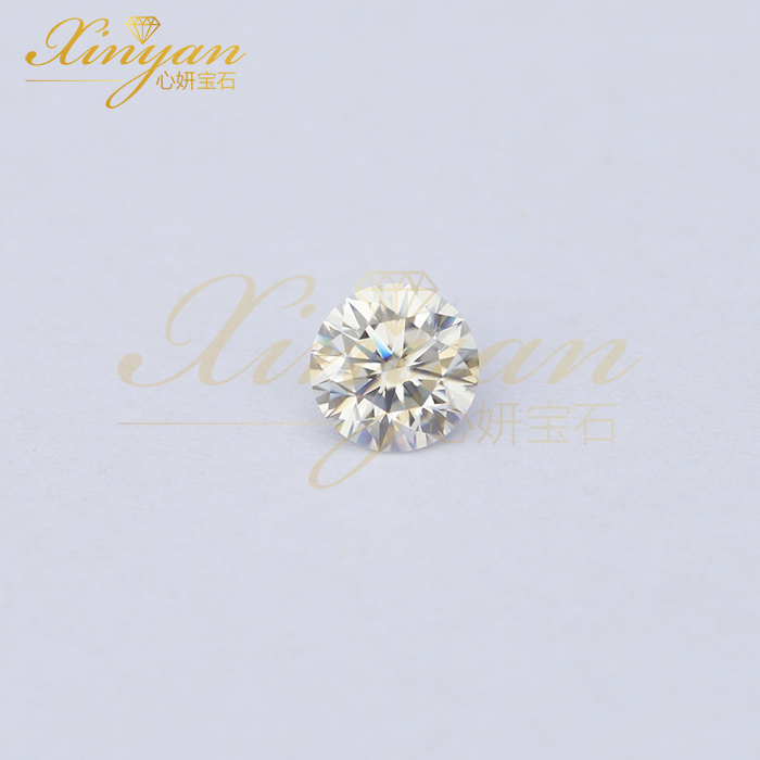 moissanite diamond  1carat 6.5mm china factory wholesale